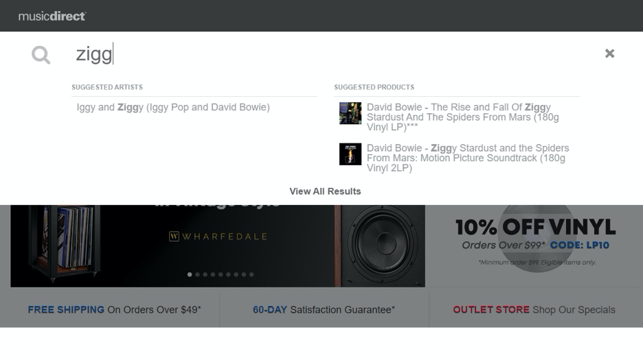 Ziggy Search, Music Direct